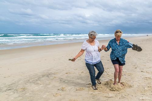 Sandcastle invaders